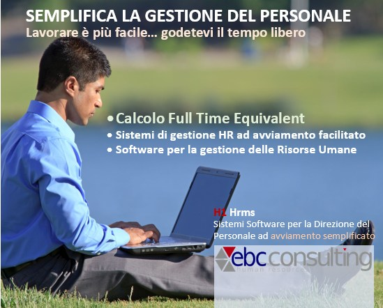 Full time equivalent FTE ANALISI dati del personale H1 Hrms EBC consulting