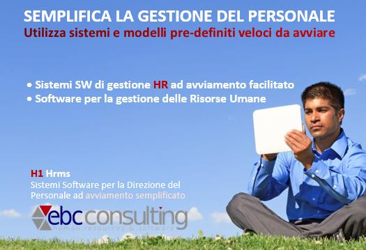 Software gestione risorse umane free H1 hrms EBC Consulting